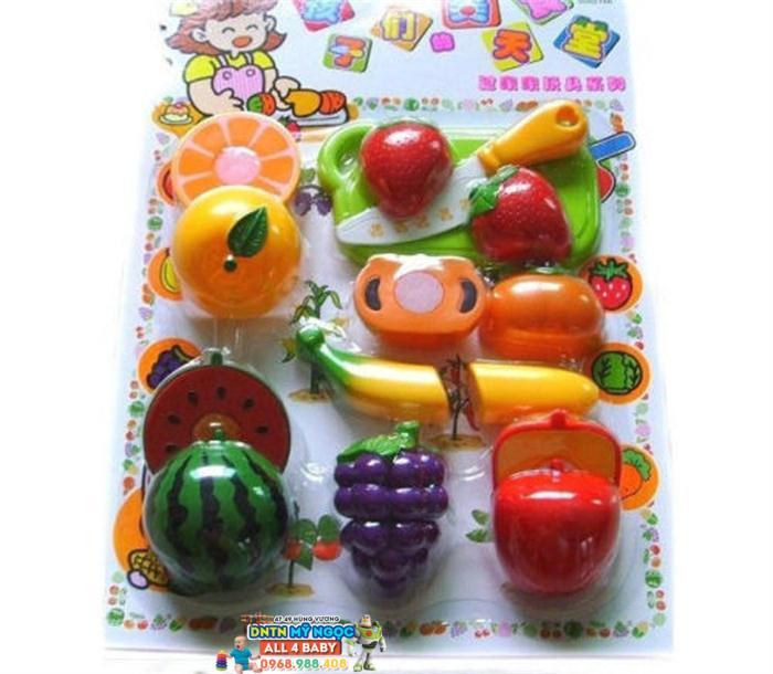 Bộ đồ chơi cắt ghép trái cây 988-2
