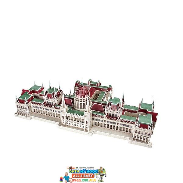 Xếp hình 3D Tòa nhà Quốc Hội Hungary