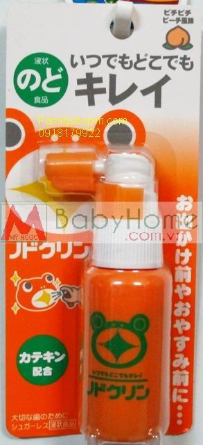 Thuốc xịt họng trị ho Nhật