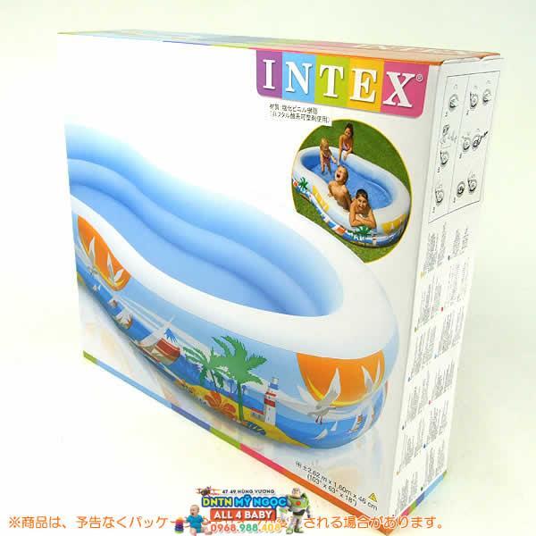 Hồ phao Intex đại dương cho bé 56490