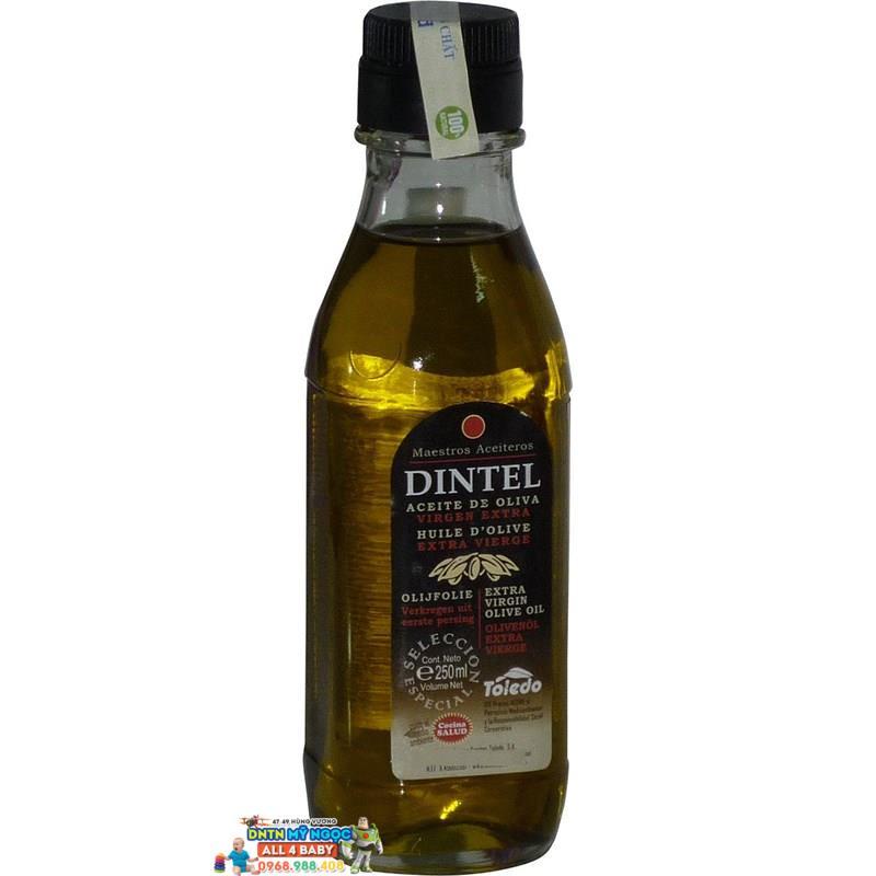 Dầu dinh dưỡng Olive Dintel siêu nguyên chất