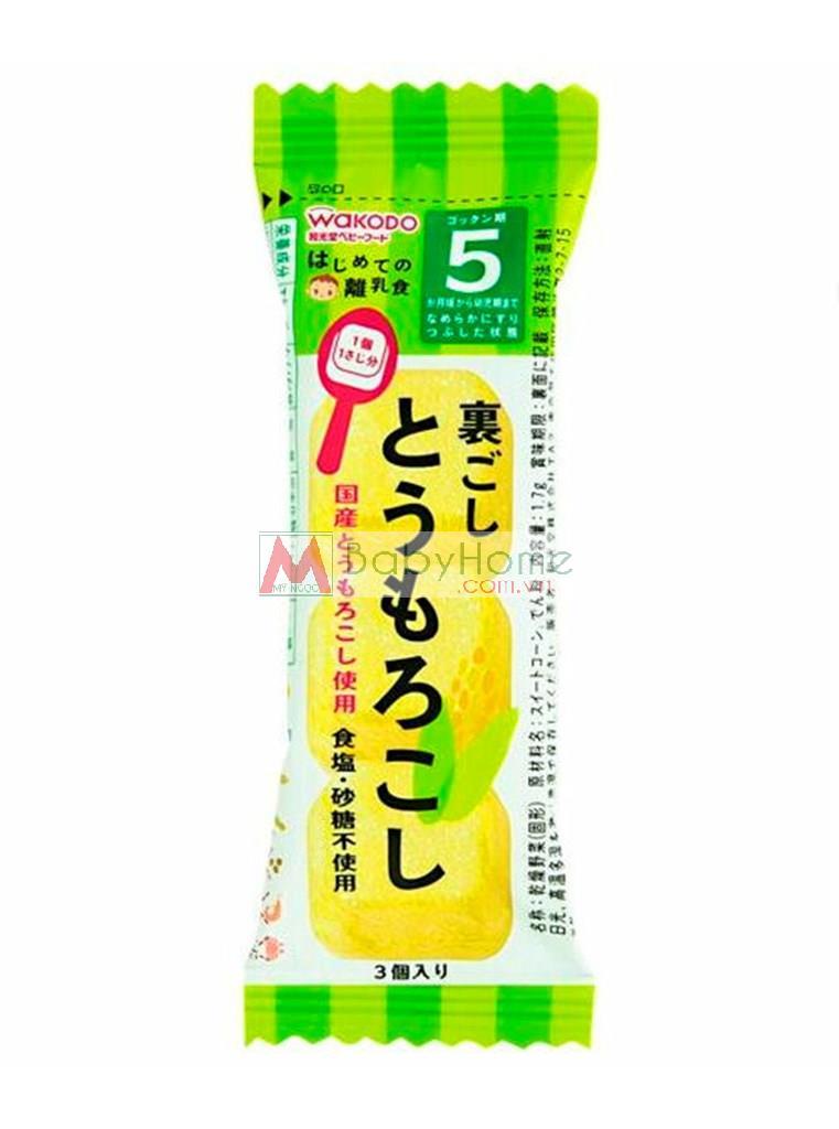 Bột rau củ Wakodo dạng viên Nhật