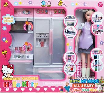 Đồ chơi nhà bếp Kitty 26215 kèm búp bê