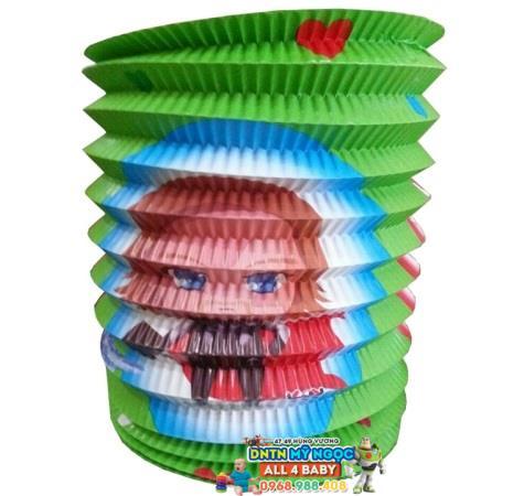 Đồ chơi lồng đèn giấy xếp hình ống (Cỡ lớn)