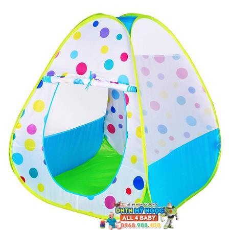 Nhà banh (Lều bóng) sắc màu (xanh) CBH-27