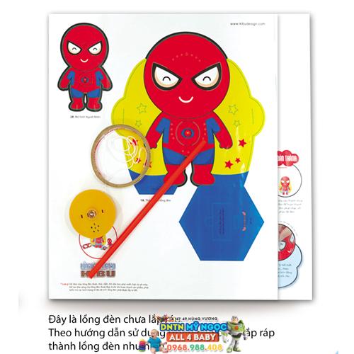 Đồ chơi lồng đèn sáng tạo Kibu Người nhện LP10