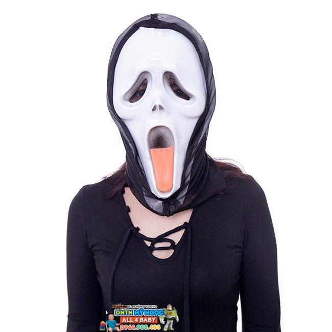 Mặt nạ The Scream thè lưỡi