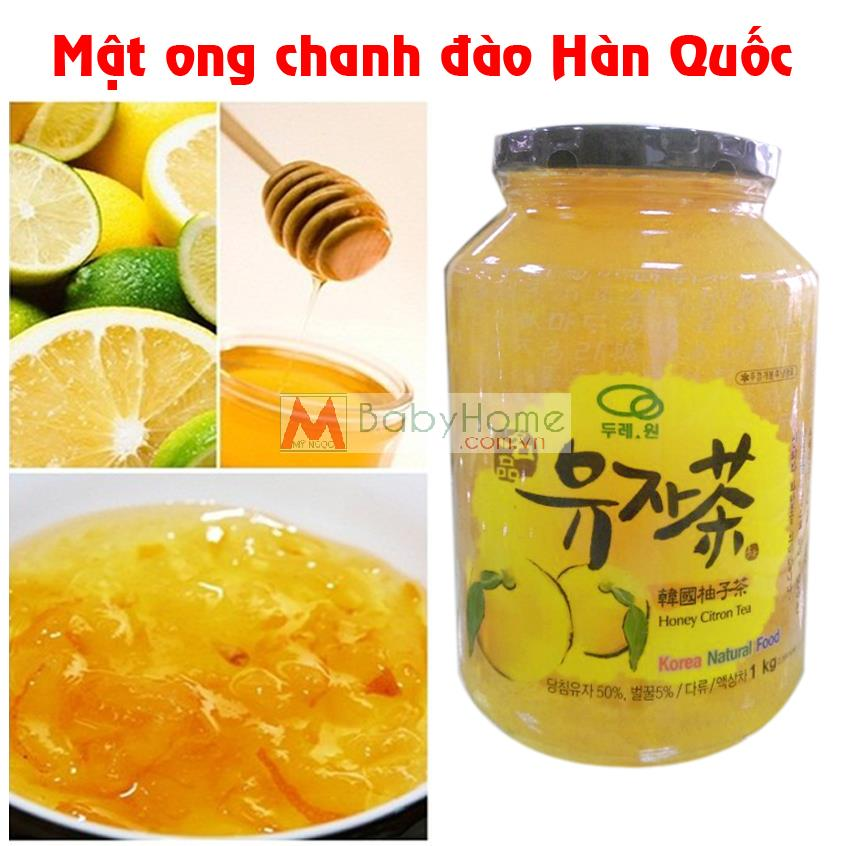 Chanh đào mật ong Hàn Quốc