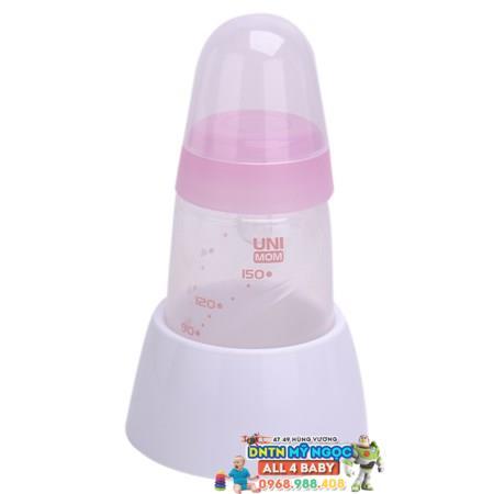 Máy hút sữa điện đôi BPA free Unimom Forte có massage silicone UM880038