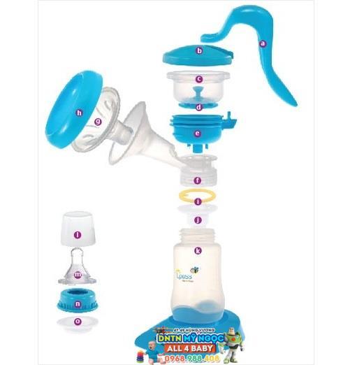 Máy hút sữa bằng tay Upass UP1637