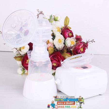 Máy hút sữa điện Unimom Allegro BPA free UM880106 (có mátxa silicon)