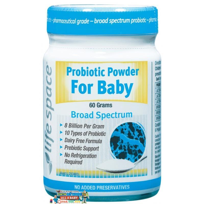 Men vi sinh Úc cho trẻ - Probiotic Powder For Baby 60g