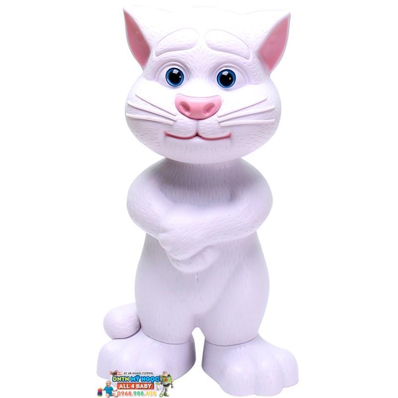 Đồ chơi Mèo Talking Tom thu âm phát nhạc - Cỡ nhỏ