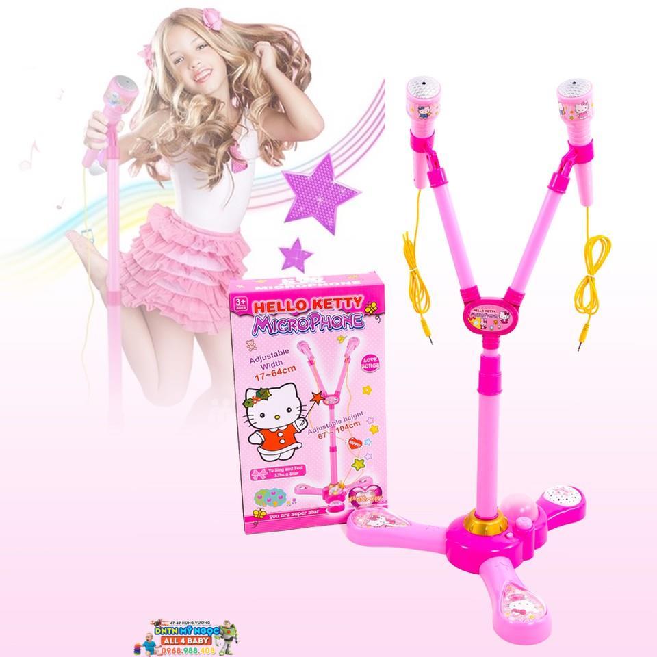 Đồ chơi Microphone hát đôi Hello Kitty