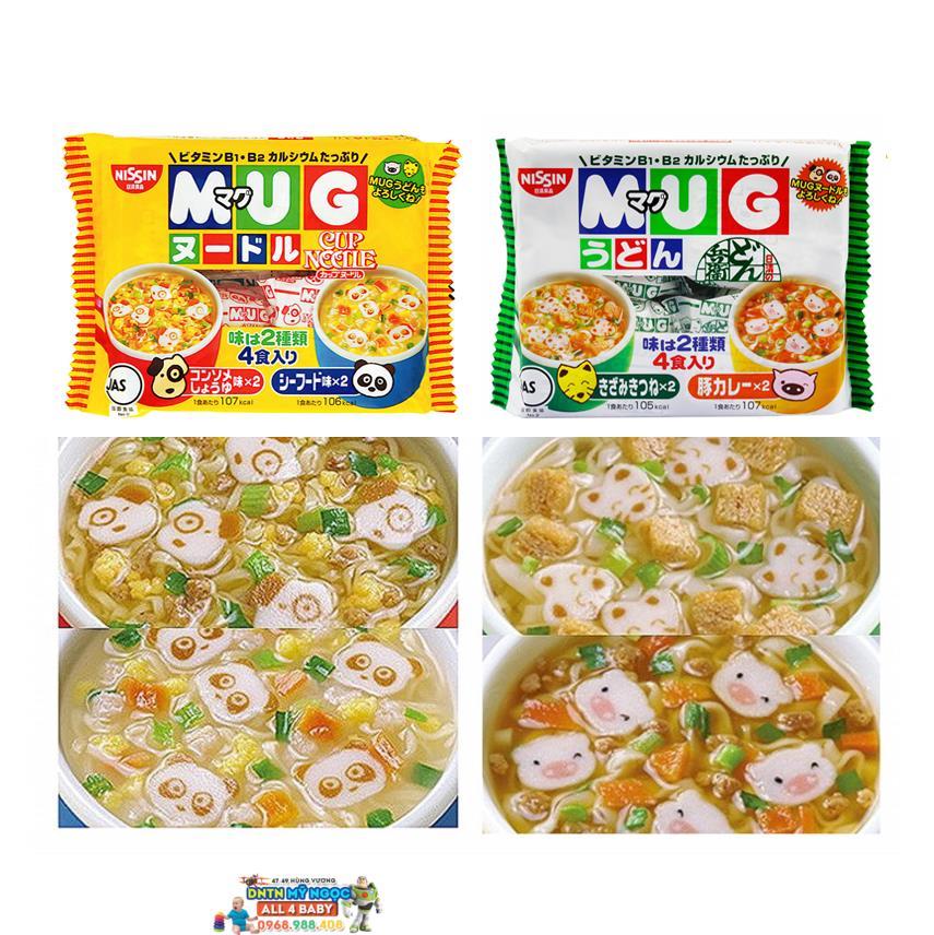 Mỳ ăn liền Mug Nissin (Nhật Bản)