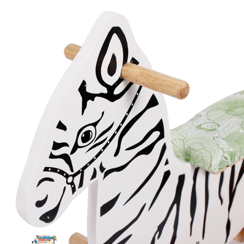 Bập bênh ngựa gỗ IQTOYS
