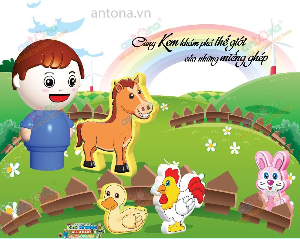Antona - Nông trại vui vẻ 212A (103 chi tiết)