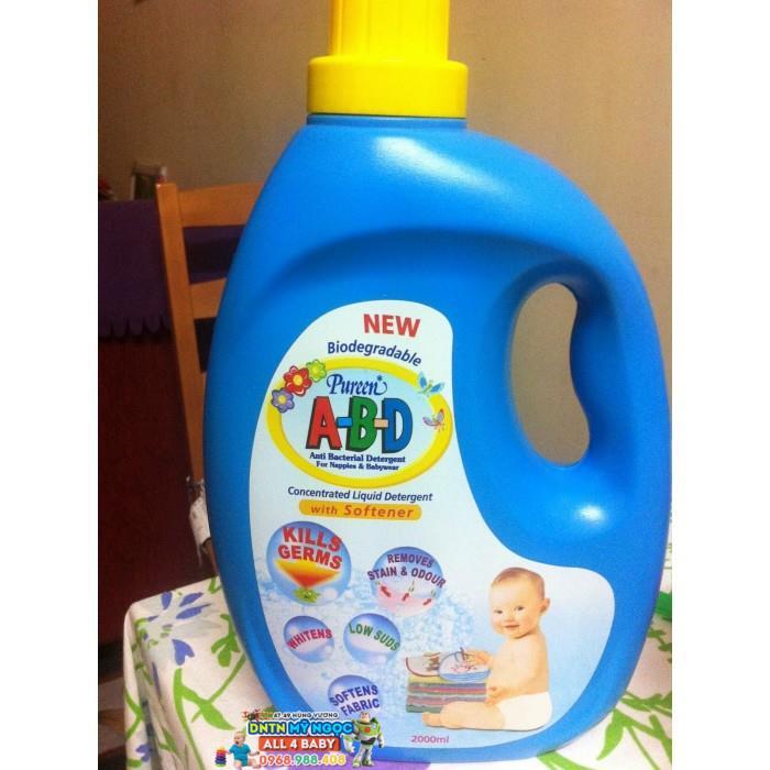 Nước giặt xảchống khuẩn trẻ em Pureen 1 lít