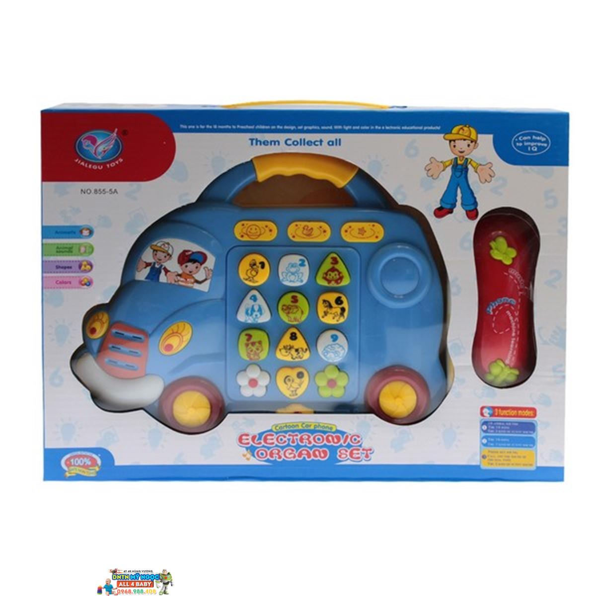 Đồ chơi điện thoại hình ôtô 855-5