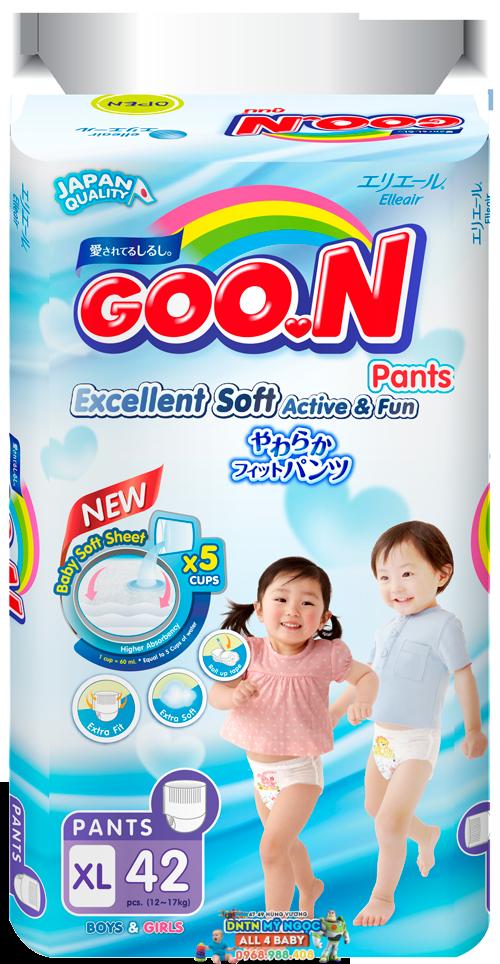 Tã quần Goon Renew  Slim các size (bịch đại)
