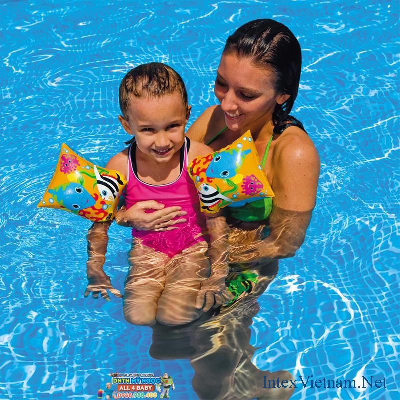 Phao bơi - Phao tay Intex 58652