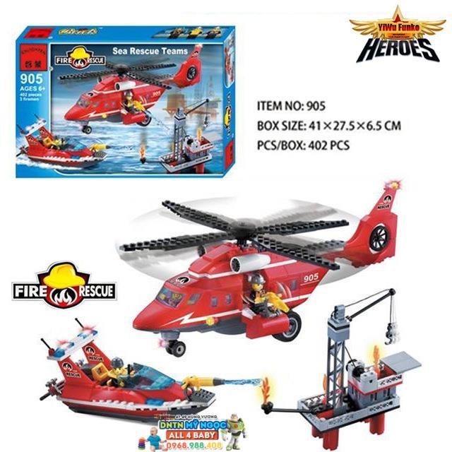 Hộp ráp trực thăng cứu hỏa 905
