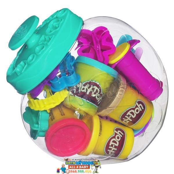 Bộ đất nặn Playdoh thế giới bánh kẹo 38984