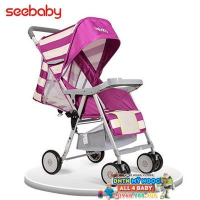 Xe đẩy Seebaby QQ3 - New siêu nhẹ