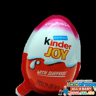 Quả trứng đồ chơi socola Kinder Girls cho bé gái