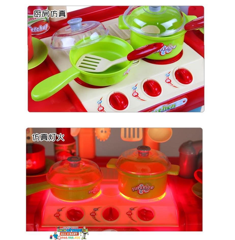 Ch i nh b p l n d ng pin kitchen set 008 58a for Kitchen set 008 58