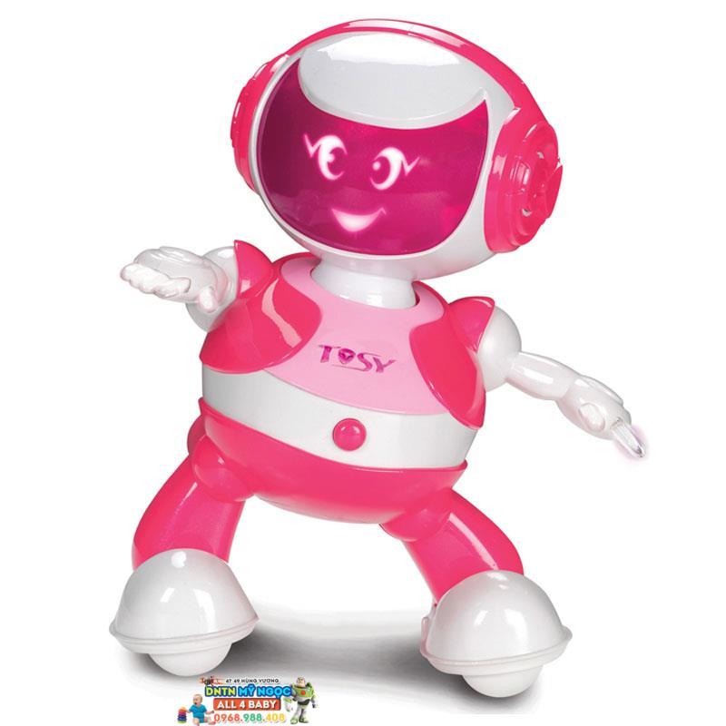 Đồ chơi Disco Robo Tosy - Ruby màu hồng phiên bản mới (Không Loa)