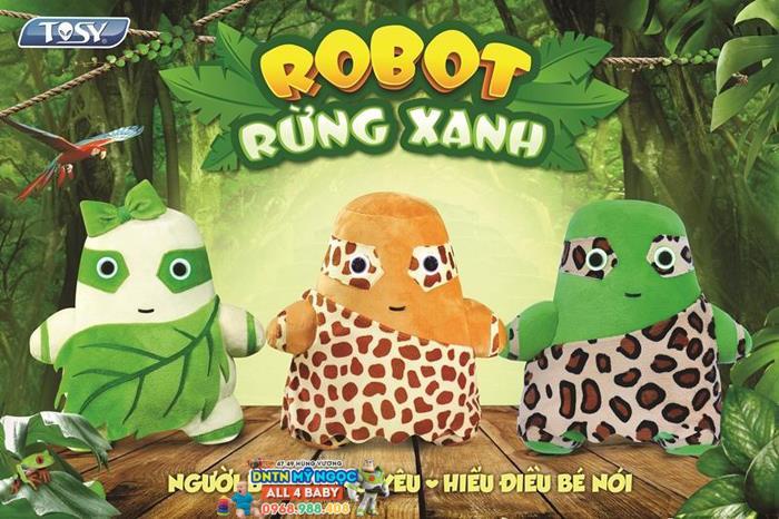 Robot rừng xanh Alpha (Robot Tosy)