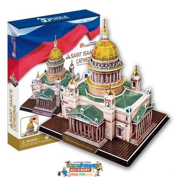 Xếp hình 3D Nhà thờ Thánh Isaac