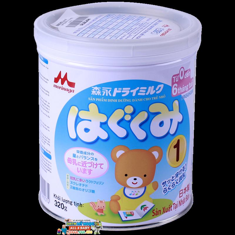 Sữa Morinaga số 1 - 320g (0-6 tháng)