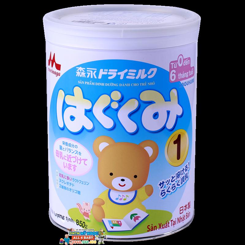 Sữa Morinaga số 1 - 850g (0-6 tháng)