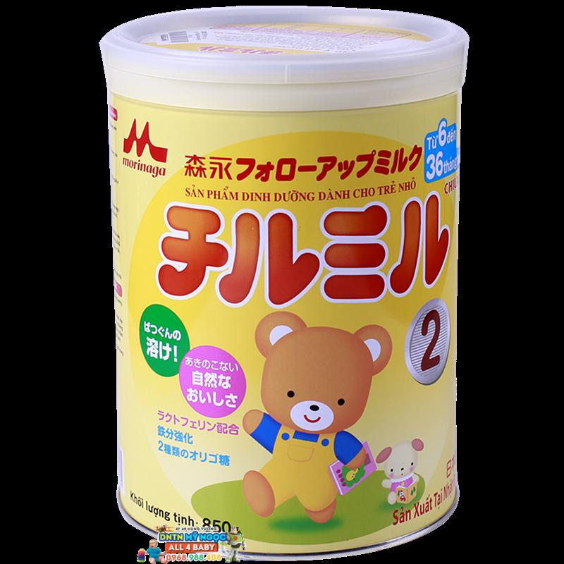 Sữa Morinaga số 2 - 850g (6-36 tháng)