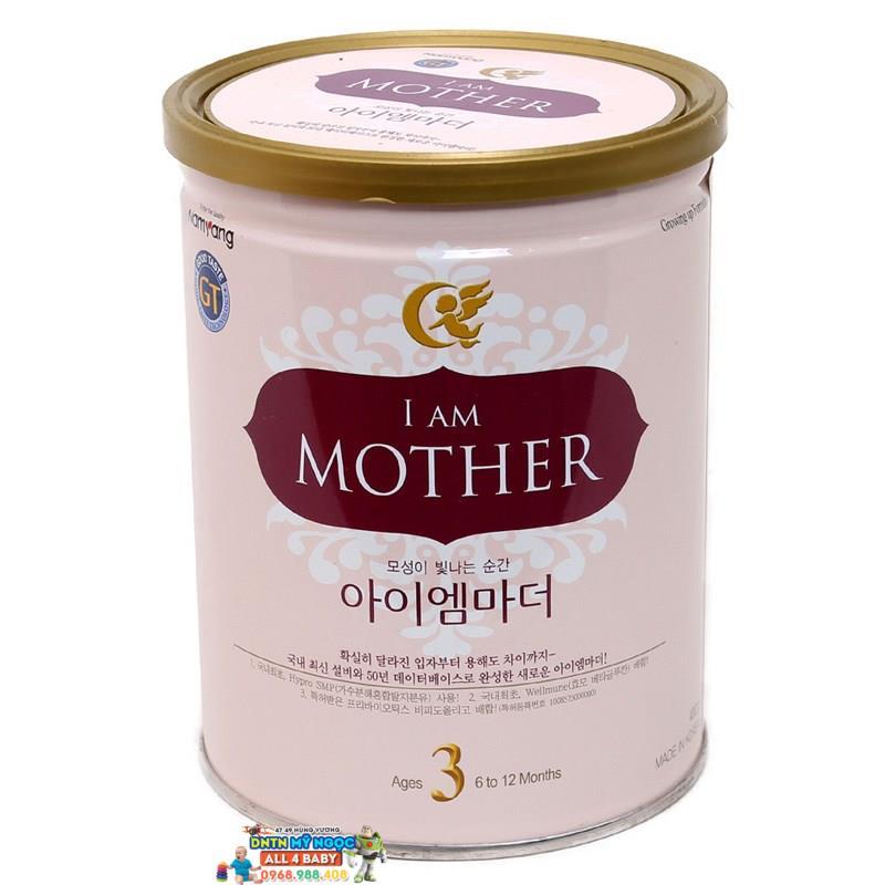 Sữa I am Mother số 3 400g dành cho bé từ 6 - 12 tháng tuổi