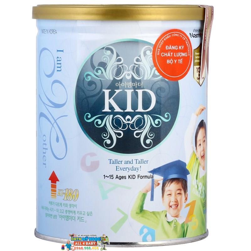 Sữa I am Mother Kid 400g dành cho trẻ từ 1 đến 15 tuổi