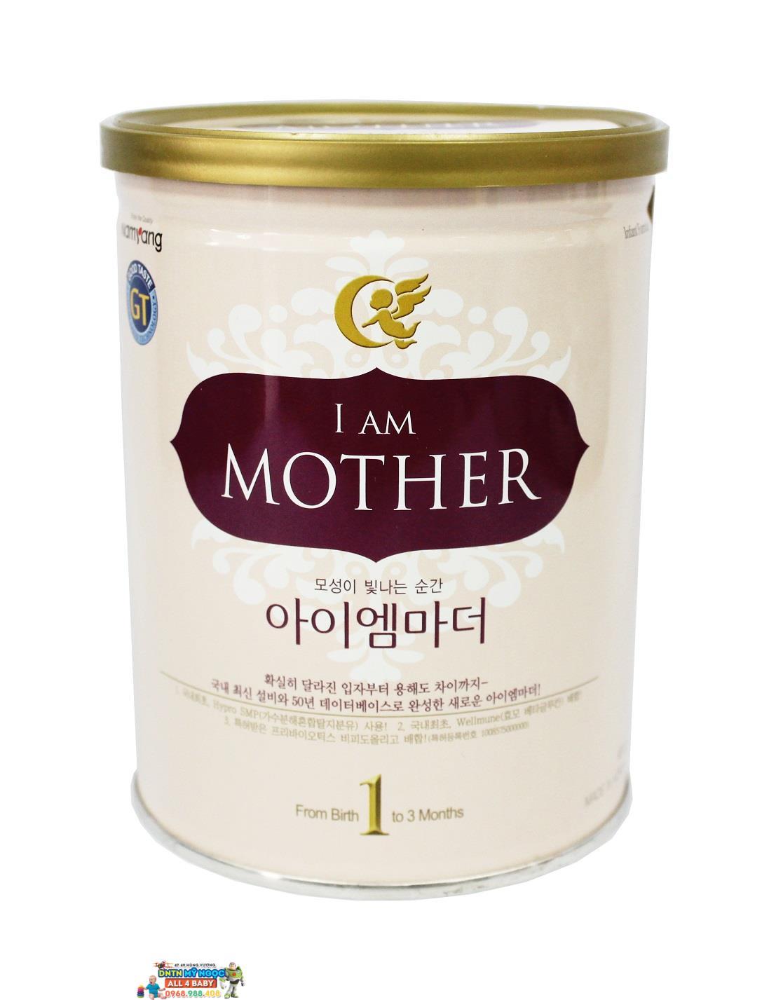 Sữa I am Mother số 1 400g dành cho bé từ 0 - 3 tháng tuổi