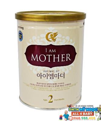 Sữa I am Mother số 2 800g dành cho bé từ 3 - 6 tháng tuổi