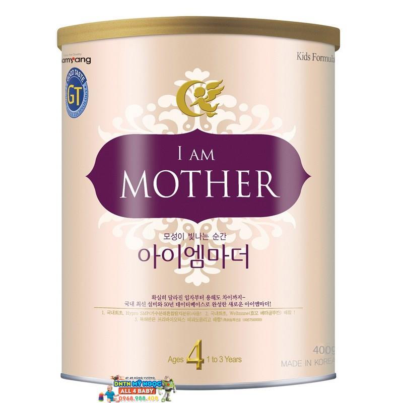 Sữa I am Mother số 4 400g dành cho bé từ 12- 36 tháng tuổi