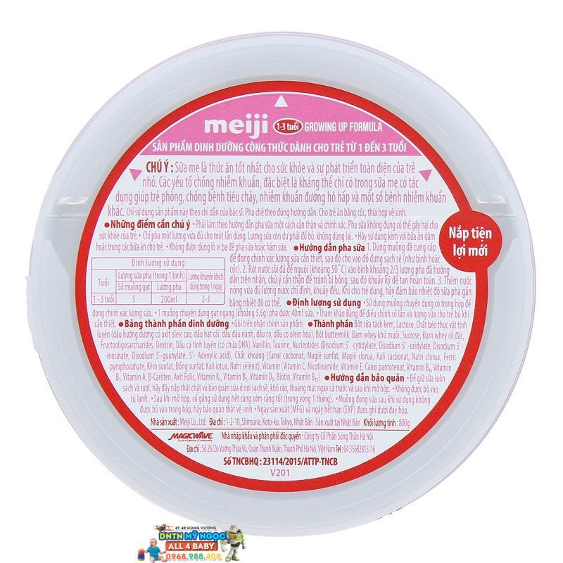 Sữa Meiji số 9 Growing 800g T8 (1-3 tuổi)