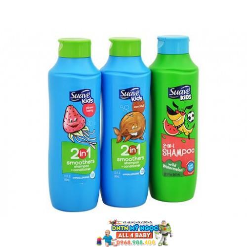 Sữa tắm gội Suave Kids 3 in 1