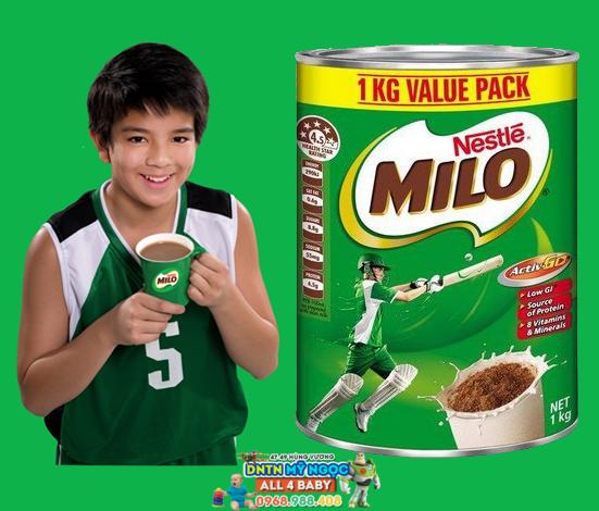 Sữa Milo Úc 1kg