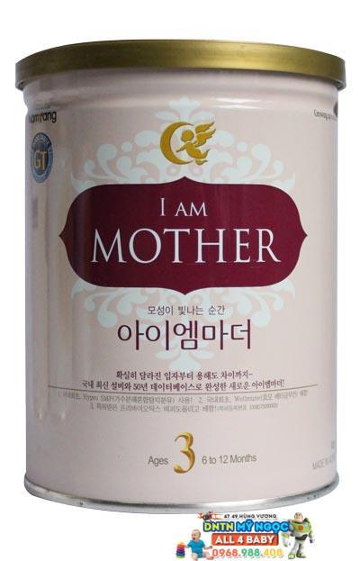Sữa I am Mother số 3 800g dành cho bé từ 6 - 12 tháng tuổi