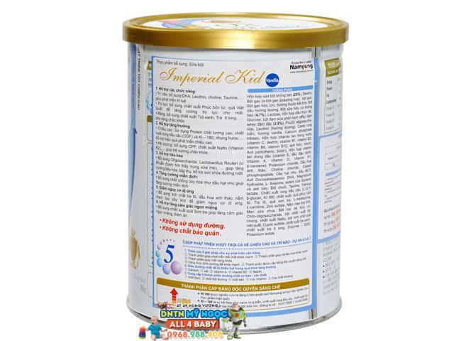 Sữa XO Kid 660g dành cho trẻ từ 2 đến 15 tuổi