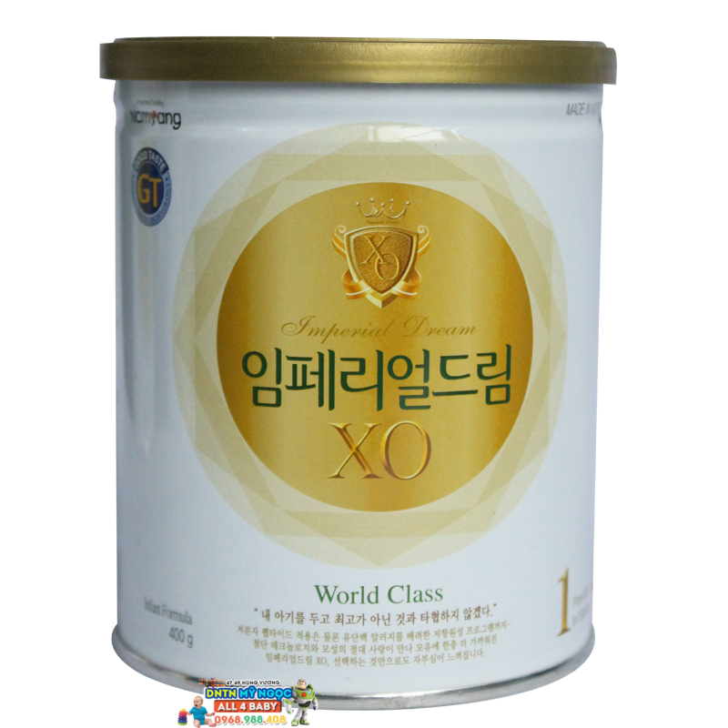 Sữa XO 400g  số 1 dành cho bé từ 0-3 tháng tuổi