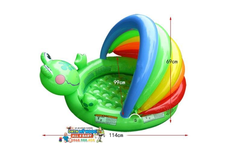 Hồ phao Intex chú ếch 57416