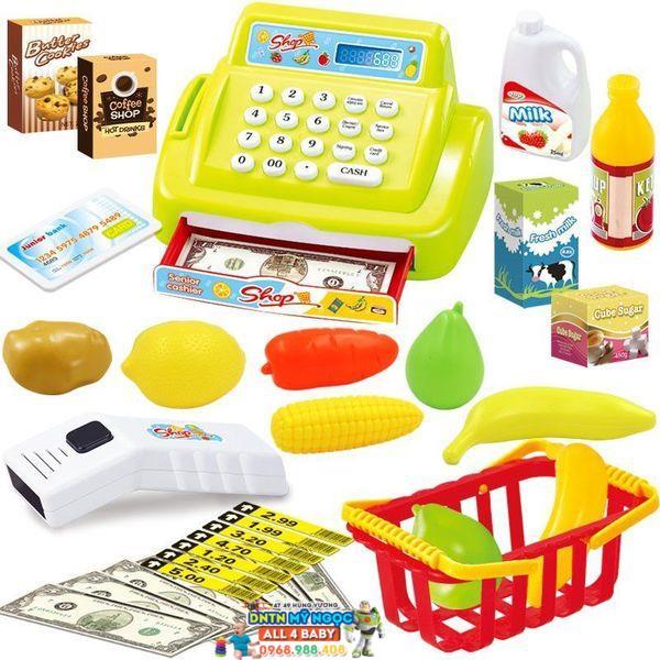 Đồ chơi máy tính tiền siêu thị 888-7
