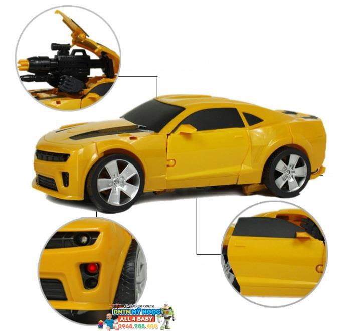 Lắp ráp robot xe Transformers 6699